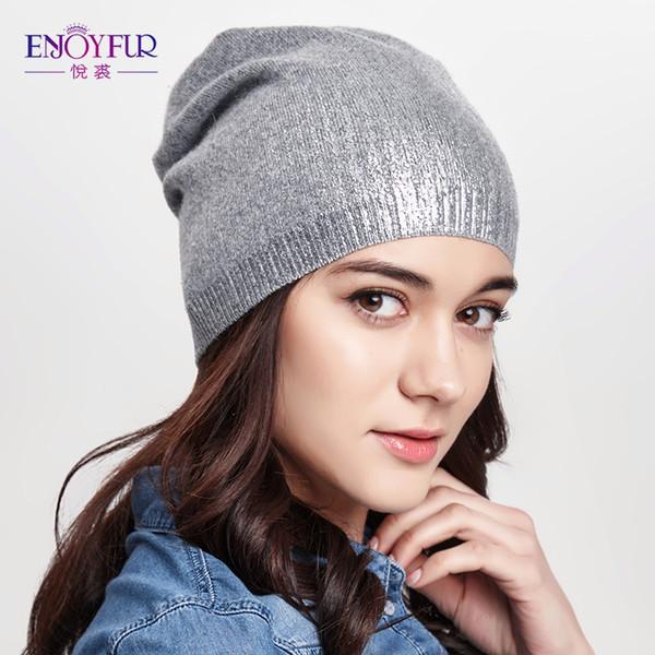 İlkbahar ve Sonbahar için kadın kasketleri şapkalar yün Avrupa ve Amerika fashional kapaklar ile örme 2018 yeni varış popüler şapkalar D18110102
