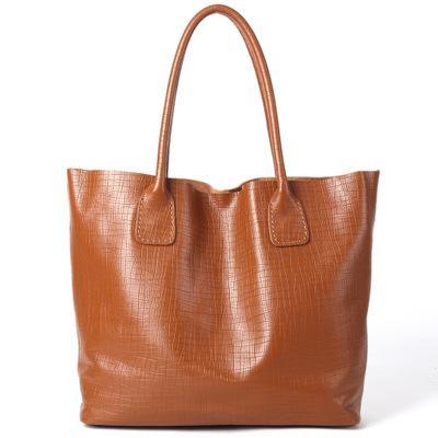 women genuine leather extra large handbag lady real cow leather black brown blue one shoulder bag big casual tote handbag