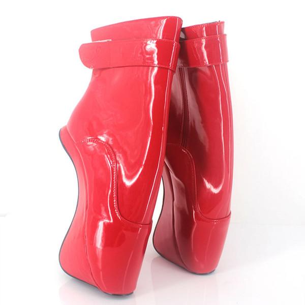 Rot glänzend