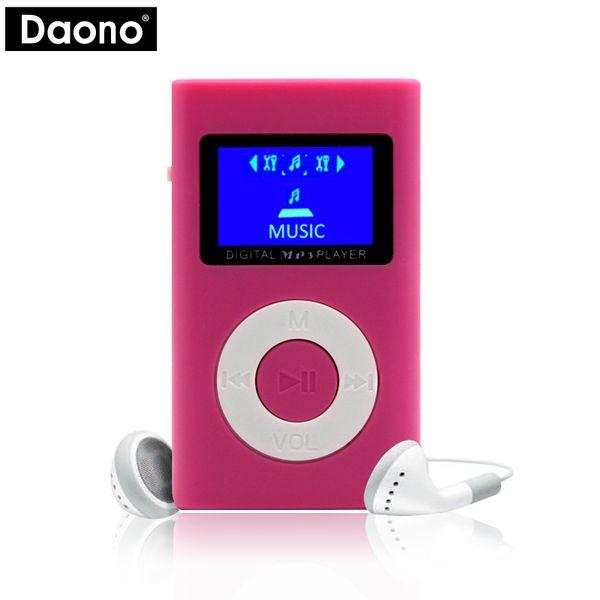 MP3 Player USB Mini LCD Screen Support 32GB Micro SD TF Card sport mp3 music player walkman lettore