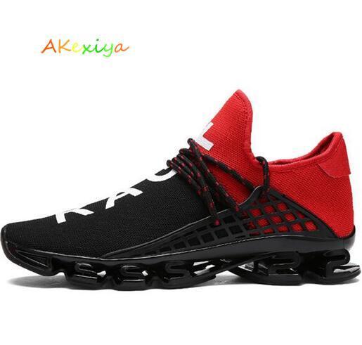 2018 hombres calientes de malla transpirable zapatillas ligeras tenis deportes al aire libre zapatos zapatos deportivos mujeres envío gratis