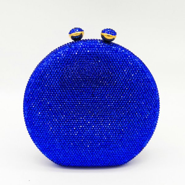 Blue Crystal Bag