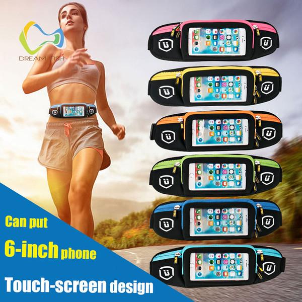 Sporttaschen Für Huawei Mate 10 Lite Outdoor-Sportarten Reiten Touchscreen Handytasche unsichtbare Sicherheitsarmband für