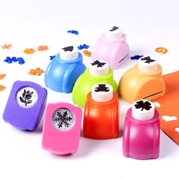 10 Mini DIY Scrapbook Embossing Punch Hole Paper Handmade Cutter Tool Craft Calico Printing Flower Hole Puncher School Supplies