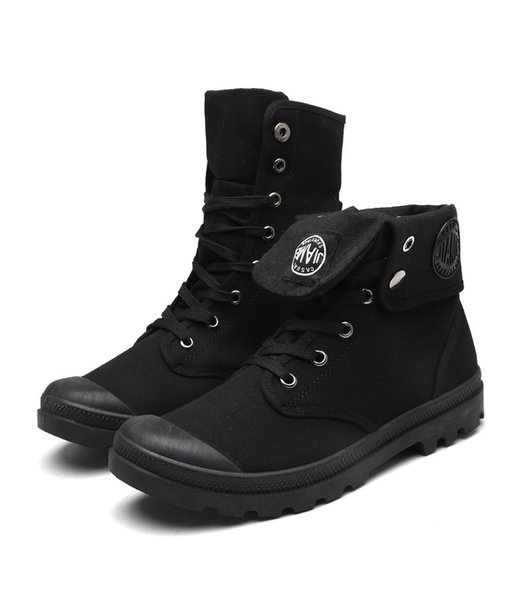 New Style High Top Army Military Mens Ankle Boots Shoes Canvas Sneakers Casual Shoes Man Anti-skid Work Shoes ADF-8171