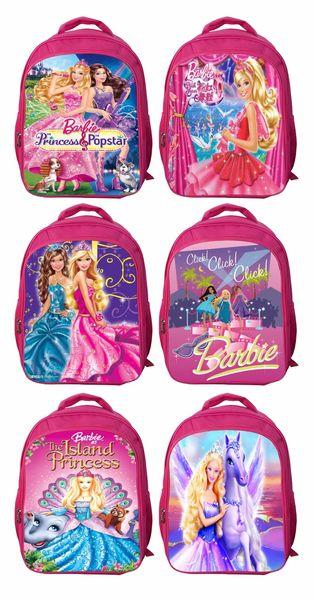 10-16year old beautiful Princess backpack 42*32*18cm senior primary school backpack children's cartoon junior high school backpack