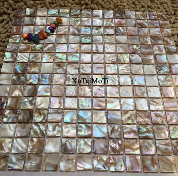 shell mosaic mother of pearl natural colorful kitchen backsplash wallpaper tile bathroom background shower decorative wall tiles