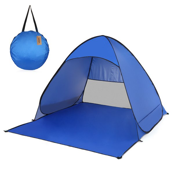 Lixada Automatic Instant Pop Up Beach Tent Lightweight Outdoor UV Protection Camping Tent Fishing Cabana Sun Shelter Summer