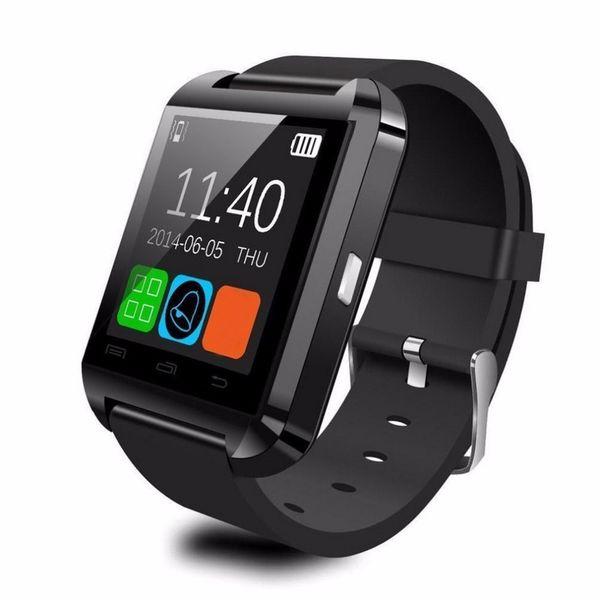 Smart Watch Bluetooth V3.0 + EDR Smart Wristwatch Phone Camera Card Mate Universal For Phone U8 Watch