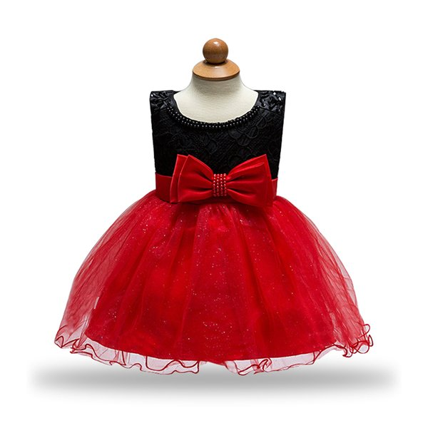 20af7bd7a345 2018 Baby Girl Princess Dress for Wedding Party Kids Dresses for Toddler  Girl Children with bow