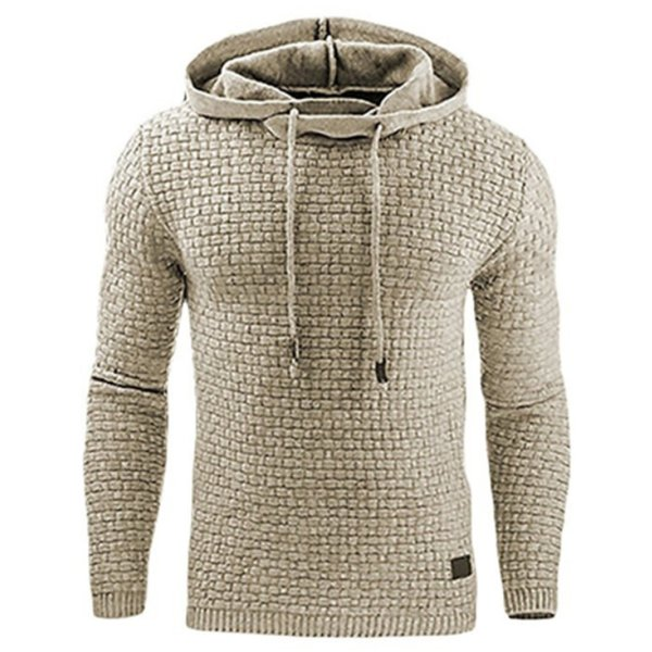 Hoodies Men 2018 Hoody Male Long Sleeve Solid Color Hooded Men's Sweatshirt Mens Hoodie Tracksuit Sweat Coat Casual Sportswear S18101705