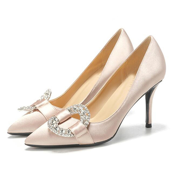 Wedding Shoes 2018 Brand Fashion Luxury Designer Women Shoes