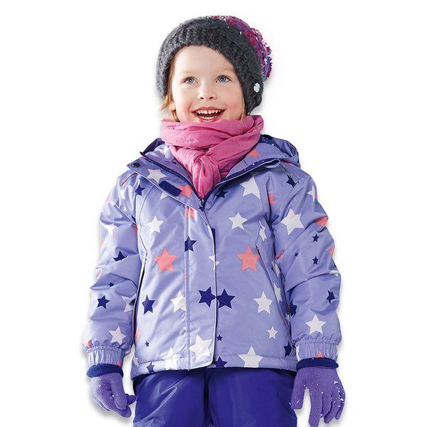 Outdoor children boys, girls, waterproof cotton wear, ski suit, baby coat, hat and pile.