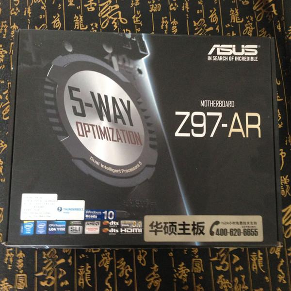 CALDO! NOVITÀ A sus Z97-AR Piatto principale in oro nero Z97 1150 pin AM3 / AM3 + DDR3 990X p8p67 modulo scheda ATX standard