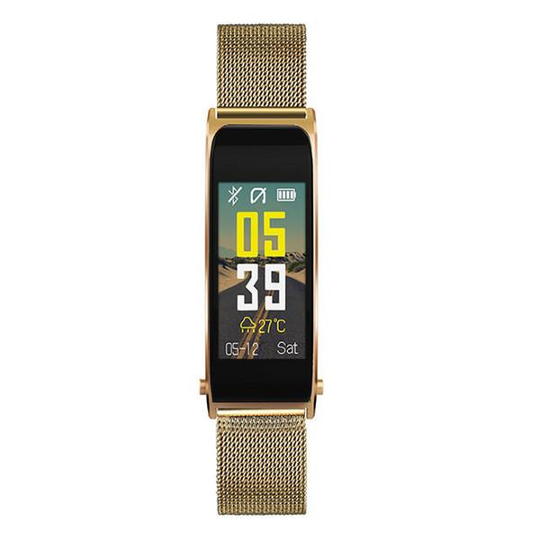 Alta Qualidade Y6 Tela Colorida Relógio Inteligente Sports Belt Pulseira Chamada Pedômetro Heart Rate muitas cores para escolher