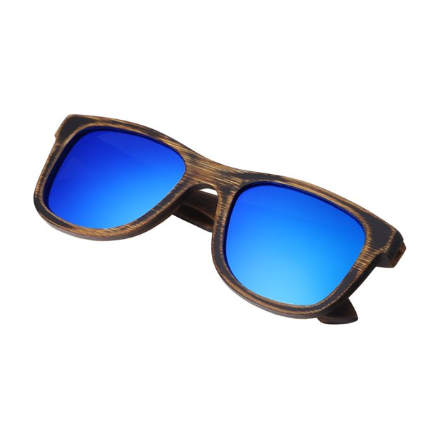 azul de la lente