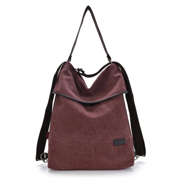 New Women Convertible Shoulder Purse,Travistar Canvas Shoulder Bag with Adjustable Strap Ladies Travel Handbags