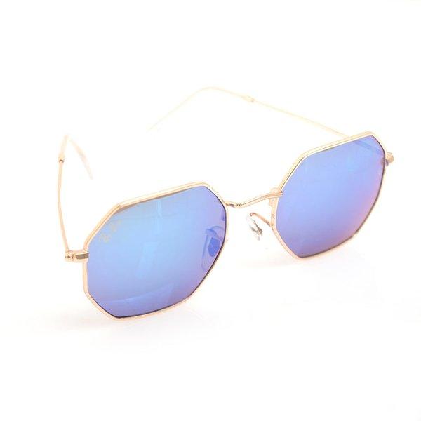 Cadre doré bleu Lens