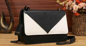 Classic Leather black chain bag Free shipping hot sell Wholesale retail new bags handbags shoulder bags tote bags messenger bag