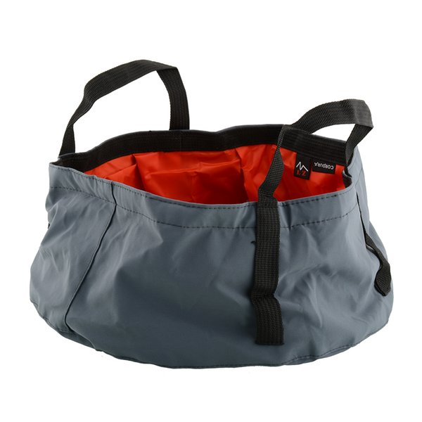 Wholesale-Portable Outdoor Foldable Folding Camping Washbasin Basin Bucket Bowl Sink Washing Bag Hiking Water Pot New