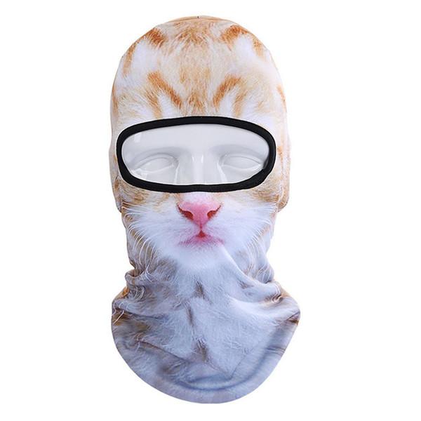 3D Animal Masques de Ski En Plein Air Vélo Cylindre Masque Visage Snowboard Vélo Écharpe Balaclava Bandeau Noir Anti-Poussière Coupe-Vent # 2A20