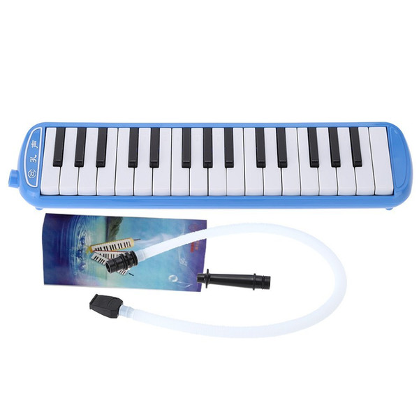 top popular 2 PCS of (32 Piano Keys Melodica Musical Instrument for Kids Children Students Musical Lovers Gift) 2021