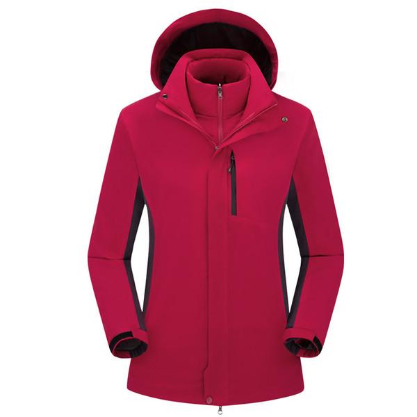 Heated Hunting Clothes >> 2019 Ski Jackets Men Jacket Hiking Clothing Heated Sport Hunting Clothes Winter Fleece Trekking Mammoth Outdoor Waterproof Fishing Coat Softshell From
