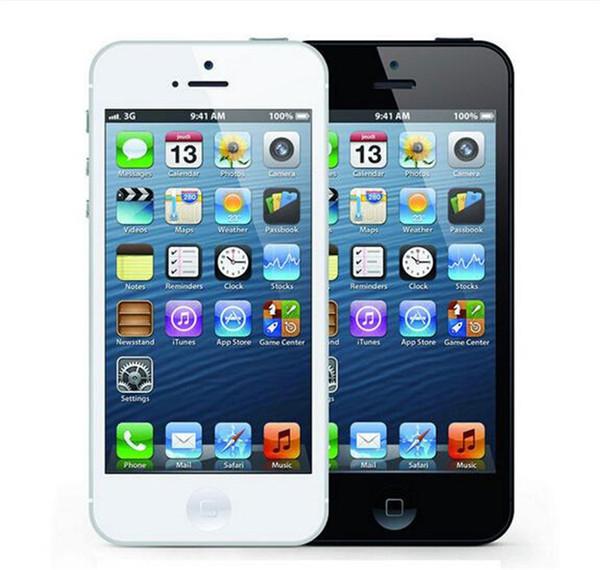 Refurbished Original iPhone 5 Mobile Phone iOS 6 Dual Core 1G RAM 16GB ROM 4.0'' 8MP Camera WIFI 3G GPS Apple iPhone 5 Smartphone
