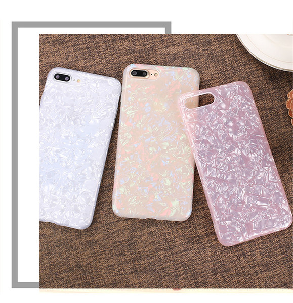 For IPhone X XS(5.8) Xr(6.1)X 6 6plus 7/8 7plus/8plus Max(6.5)3D Raised Pattern Crystal Clear Case TPU Shockproof Back Cover