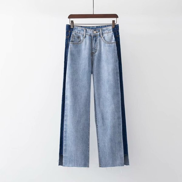 wholesale Jeans for Women Large Size Streetwear Jeans Wide Leg Pant Loose Trousers for Women