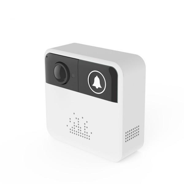 Campainha Sem Fio inteligente 720 P HD Wifi Câmera de Vídeo De Segurança Monitor de Alarme Inteligente Controle APP Livre IOS Androi