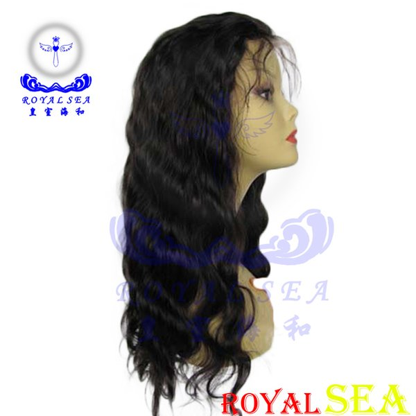 Water Wave Full Lace Human Hair Wigs For Sale Indian Remy Lace Wigs African American Lace Front Wigs
