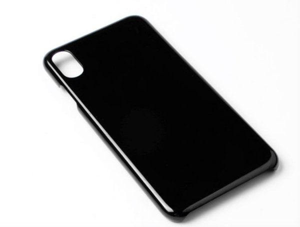 3D Sublimation Print Logo Coating Oil Customized Blank Plastic Cover Case For iPhone 8 8s X Xr Xs Max Free Shipping