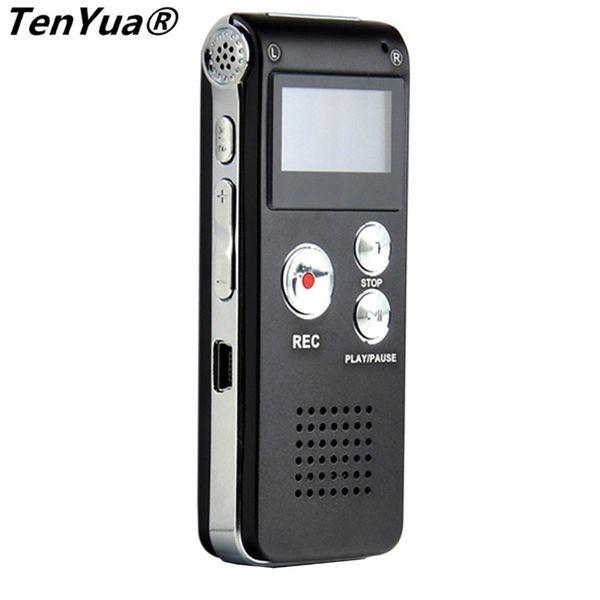 TenYua Portable Mini Enregistreur vocal numérique 8 Go MP3 Dictaphone pour téléphone USB Flash Drive Pendrive Pen avec lecteur audio
