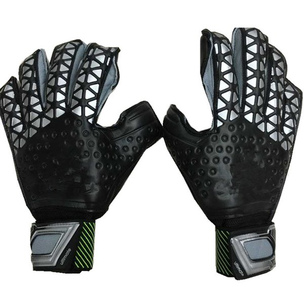 Футбольные перчатки оригинальный логотип доменных зон, Туз хищник многоборью латекс футбол перчатки де Futebol в перчатки luva де Goleiro