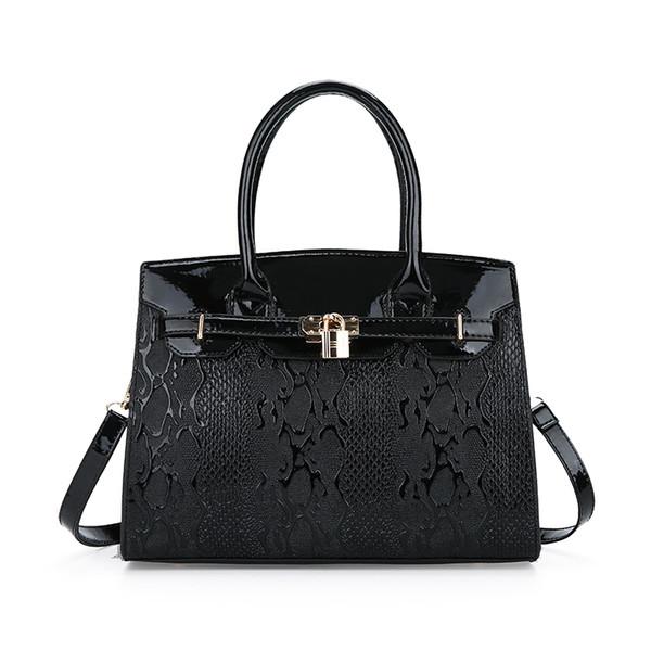 2018 New Women Bag Locked Decorative Zipper Beautiful Texture Female Messenger Bags Casual Female Handbags Bolsos Mujer