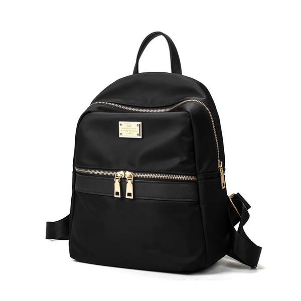 2017 New Waterproof Nylon Women Backpack Korea Fashion Preppy Style Casual Rucksack for Teenage Girls Cool Travel Shoulder Bags