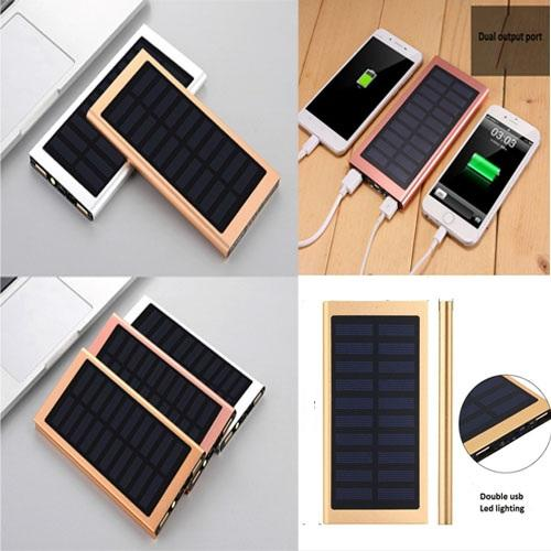 Solar Energy Cell Phone Power Mobile Power high quality General-purpose Travel Charger Power Portable Charger Solar Powerbank
