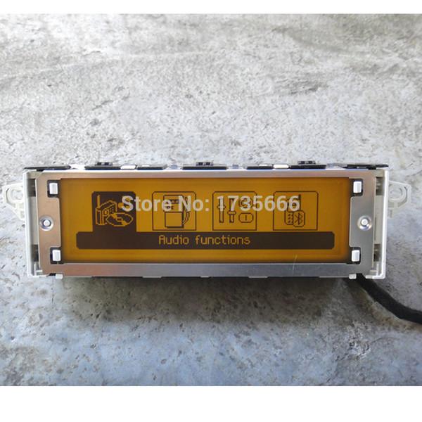 Soporte de la pantalla del coche original de fábrica Pantalla Bluetooth USB Monitor amarillo 4 Menú para 307 407 408 C4 C5 GPS