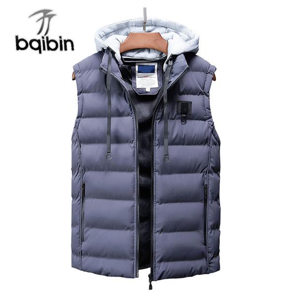 2018 Vest Men New Stylish Autumn Winter Warm Sleeveless Jacket Waistcoat Slim Fit Men's Vest Fashion Casual Coats Men Plus Size