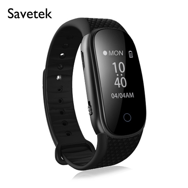 top popular Voice Activated Digital Voice Recorder 8GB Fashion Sports Bracelet Pedometer Lossless Mp3 Player USB Storage for Lectures Meetings Notes 2020