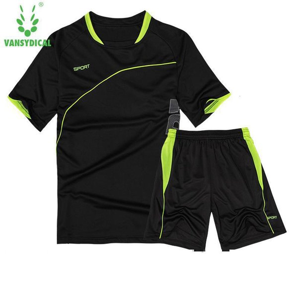 Men's Sport Run Suits Quick Dry Basketball Soccer Training Tracksuits jersey Summer Fitness Sportswear Men Gym Clothing Sets