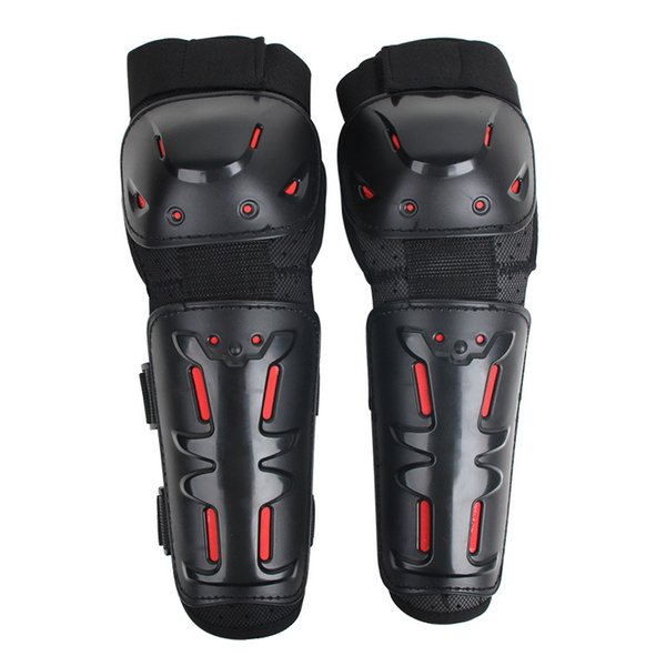 Motorcycle Motocross Off-Road Racing Cycling Elbow and Knee Pads Protector Shin Safety Guards Gear Set Extreme Sport Protectors