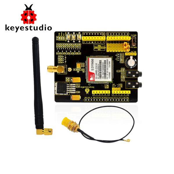 Compre Módulos Keyestudio Sim900 Gsm Gprs Módulos Para Arduino Uno Y El Módulo Inalámbrico Mega Leonardo Con Cable De Extensión A 37 69 Del Nori