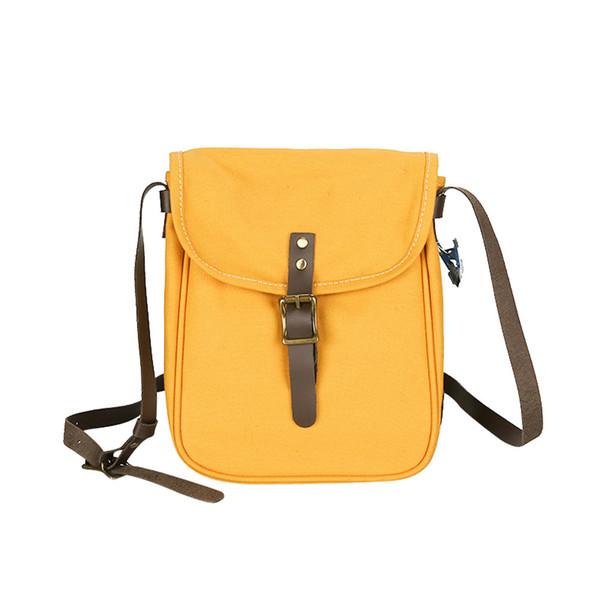 Vintage Leisure Shopping Travel Canvas Shoulder Bag Handbag Bag Inclined Shoulder Cell Phone Pocket New Arrival
