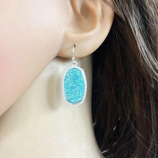 Kendra scott pandora necklace mothers day designer bracelet gold chain designer jewelry geometric fluorescent earring leather earrings