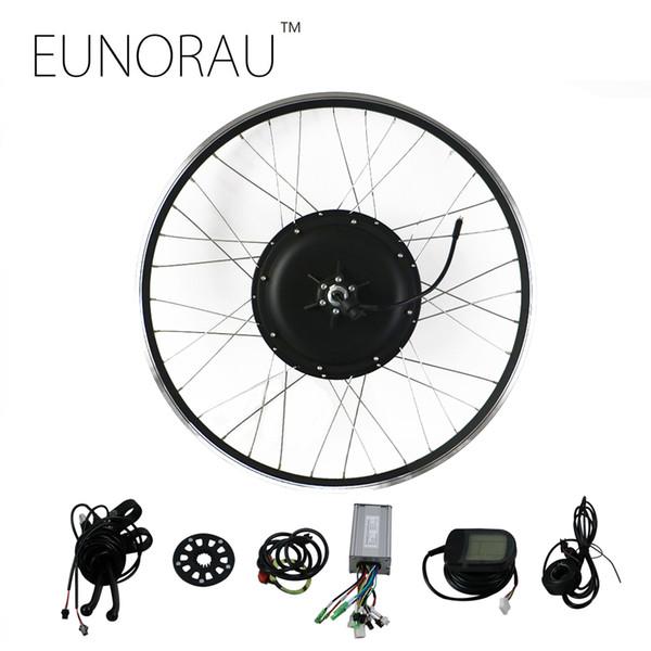 wholesale 48V1000W 26''27.5'' 28'' rear wheel hub motor electric bike kit cheap Ebike Conversion Kit free shipping
