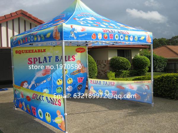 3 * 3 m tenda marquise, gazebo, tamanho do dossel do abrigo do sol (10