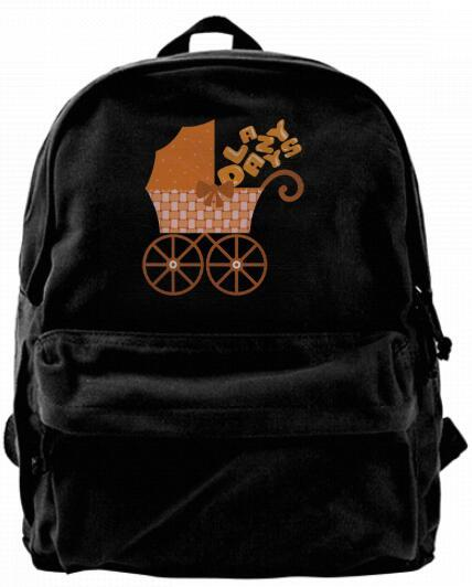 Lazy Days happy hour Fashion Canvas Best Backpack Unique Camper Backpack For Men & Women Teens College Travel Daypack