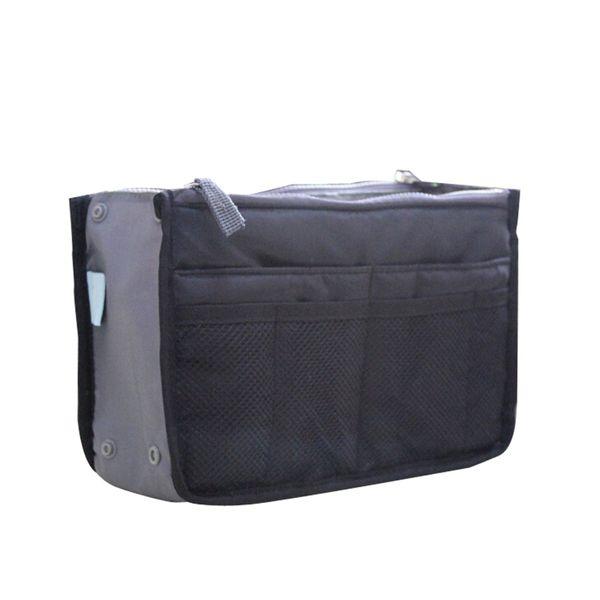 2018 Women Nylon Travel Insert Organizer Handbag Purse Large liner Lady Makeup Cosmetic Bag Cheap Female Tote